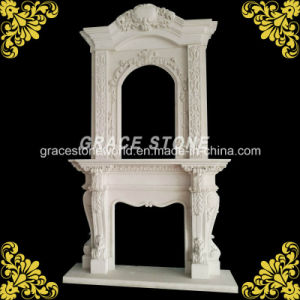 Carving Fireplace (GS-DF-015) pictures & photos