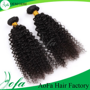 No Shedding Tangle Free Factory Price One Donor Curly Hair pictures & photos