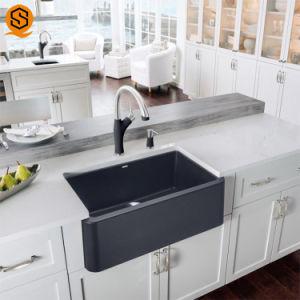 China Modern Design Kitchen Sink Solid