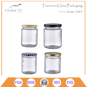 Customized Shape Glass Food Packaging Containers with Cap pictures & photos