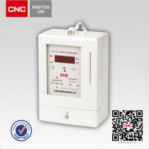 DDSY726 Single-Phase Electronic Pre-Paid Watt-Hour Meter pictures & photos
