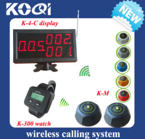 Electronic Device Small Wireless Buzzer System for Cafe House pictures & photos