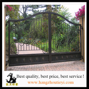 Clical Swing Iron Main Garden Gate Design Wrought Gates