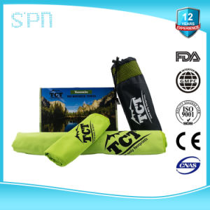 Logo Printed Wholesale Microfiber Sport Cleaning Towel pictures & photos