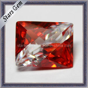 Red and White Assorted Colors Gemstone CZ Bright Splicing Cubic Zirconia pictures & photos