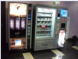 Snack/Beverage and Coffee Vending Dispenser pictures & photos