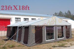 Camper Trailer Tent (SC08 Both Living Rooms)