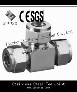 Stainless Steel 304 CF3 3 Way Copper Elbow Fitting