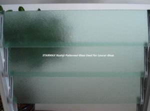 3mm Nashiji Patterned Glass with CE Certificate