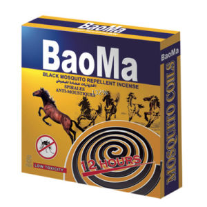 Baoma Black Mosquito Repellent Incense Spirales Anti-Mosquitoes (Original factory) pictures & photos