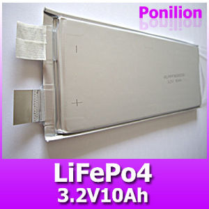 LiFePO4 Battery, 3.2V 10Ah Battery