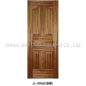 Natural Veneered Moulded Door Skin (JL-005)