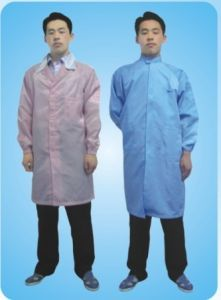 ESD Work Smock for Cleanroom Use pictures & photos