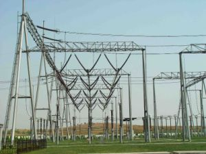 500kv Substation Structure, Steel Structure