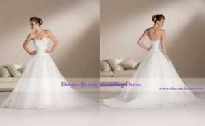 Wedding Dress & Bridal Gown (Hs46-Mic)