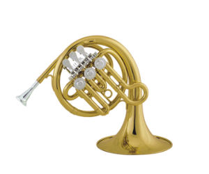 Rotary Post Horn/ Mini French Horn/ Bb Key pictures & photos