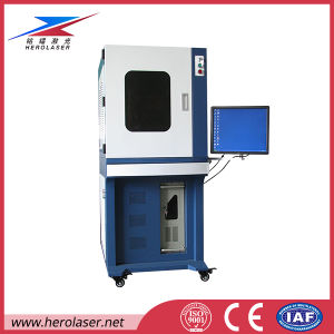 High Efficiency Laser Engraving Cleaning Machine for Coating on Glass pictures & photos