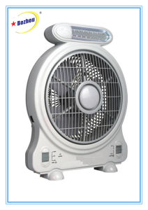 Cool Rechargeable Desk Fan with Emergency LED Light pictures & photos