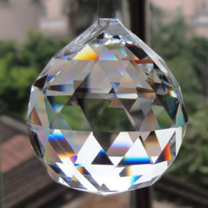 Faceted Crystal Balls Glass Chandelier Balls Pendant Crystal Curtain Pendant pictures & photos