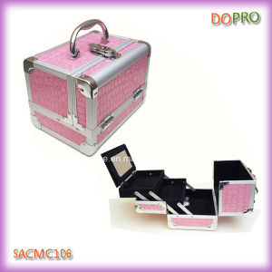 Classical Style Small Makeup Train Case (SACMC106)
