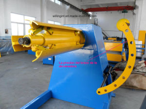 8 Tons Automatic Hydraulic Uncoiler with Coil Car for Roll Forming Machine pictures & photos