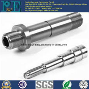 Custom Steel Alloy CNC Machining Shafts for Machinery