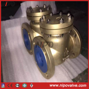 Aluminium Bronze Bolt Bonnet Swing Check Valve pictures & photos
