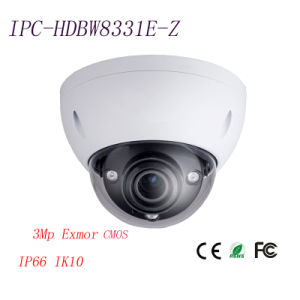 3MP HD Ultra WDR Vandal-Proof Infrared IP Security Camera {Ipc-Hdbw8331e-Z}