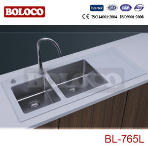 White Glass Sink (BL-765L) pictures & photos