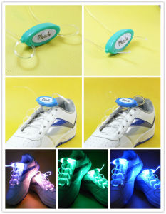 Lighting Flash Light up Sports Skating LED Shoe Laces pictures & photos