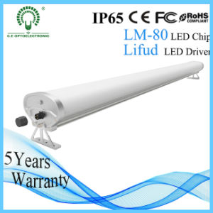 2800-6500k 1.2m 50W LED Tri-Proof Light with Lifud Driver
