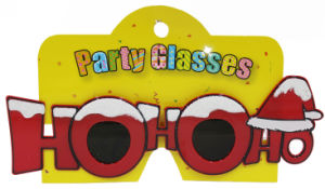 Party Sunglasses with Hohoho Red