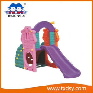 China Professional Indoor Kids Plastic Slide with Swing Toy - China ...