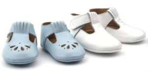 Factory New Design Cow Leather Handmade Baby Shoes