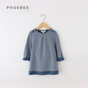 Phoebee Kids Clothes Knitted Dresses for Girls pictures & photos