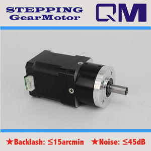 NEMA17 L=48 mm Stepping Motor with Gearbox Ratio 1: 10