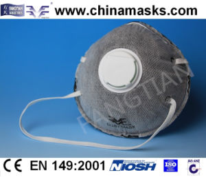 Disposable CE Active Carbon Face / Dust Mask with Valve