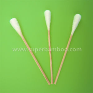 3′ Bamboo Stick Cotton Swab for Medical Use (BF22757)