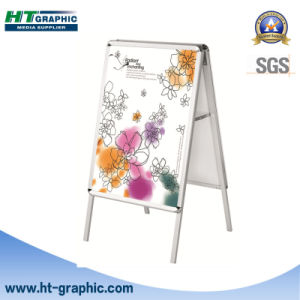Standard Aluminum Double Sided Poster Stand