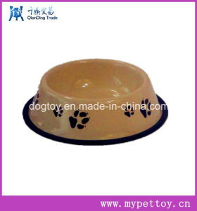 Stainless Steel Bowl for Dog with Rubber Pad Base pictures & photos