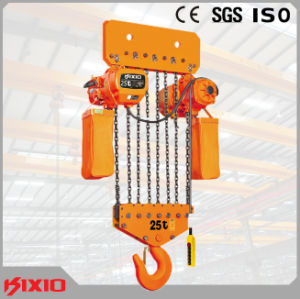 Heavy Duty Lifting Equipment 50 Ton Electric Chain Hoist  pictures & photos