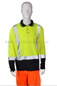 Long Sleeve Reflective Safety T Shirt pictures & photos
