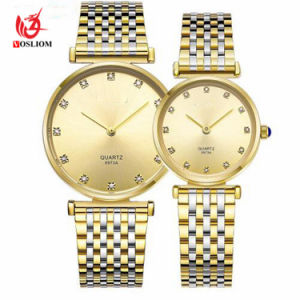 Classic Couples Watches Business Style Lovers Men Women Clock Quartz Charms Analog Wristwatches #V304