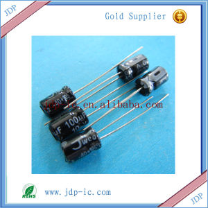 Hot Sell Capacitor 100UF-10V pictures & photos
