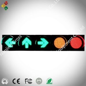 200mm Five Unit Traffic Lights with Fresnel Lens