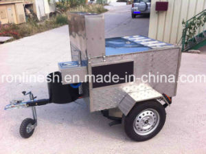 Hotdog Cart/Vending Kiosk/Street Food Cart/Catering Trailer/Snack Trailer/Mobile Fast Foodcart CE pictures & photos