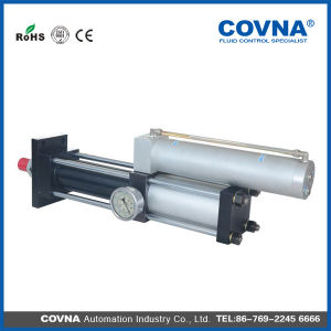 63mm Output Power 3t Double Acting Air Hydraulic Booster Cylinder