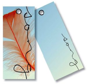 Paper Hang Tag for Clothing, Shoes&Sunglass