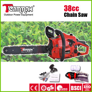 37.2cc Gasoline Chain Saw with CE, GS, Euro II Certificate pictures & photos