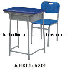 Classic Plastic Study Table and Chair Furniture Set